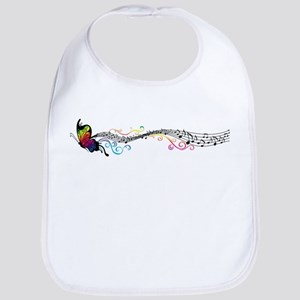 Butterfly Music Bib