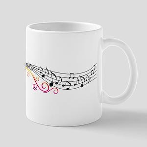 Butterfly Music Mug