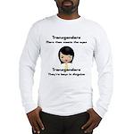 Transgenders Long Sleeve T-Shirt