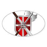 GGC Shield Sticker (oval)