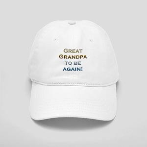 Great Grandpa To Be Again Cap