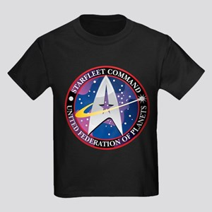 StarFleet Command Kids Dark T-Shirt