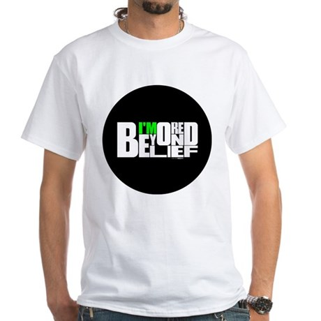 Bored Beyond Belief White T-Shirt
