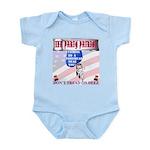 Don't tread on deez! Infant Bodysuit