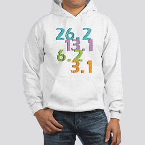 runner distances Hooded Sweatshirt
