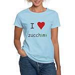 I Love Zucchini Women's Light T-Shirt