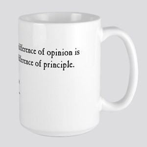 Thomas Jefferson Large Mug - Opinion