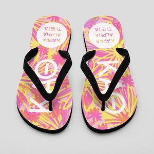 Kappa Alpha Theta Pink Flip Flops