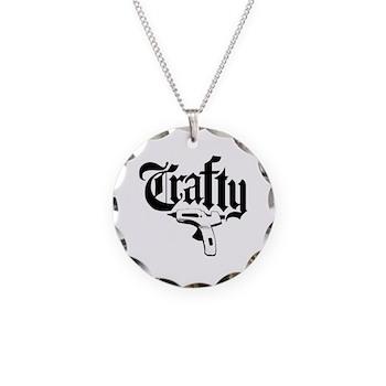 Craftygangsta Necklace Circle Charm