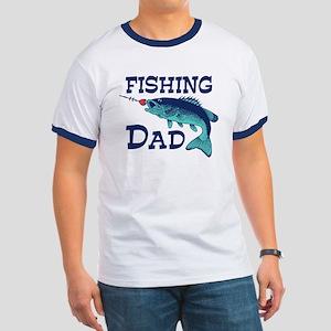 Fishing Dad Ringer T