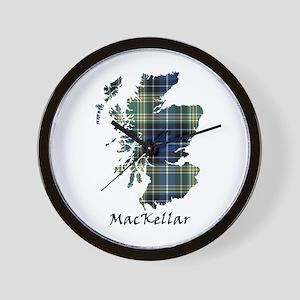 Map - MacKellar Wall Clock