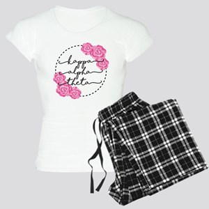 Kappa Alpha Theta Floral Women's Light Pajamas