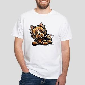 Norwich Terrier Cartoon T-Shirt