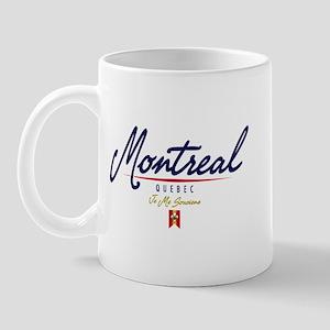 Montreal Script Mug