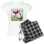 Cat Cancer Women's Light Pajamas