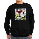 Cat Cancer Sweatshirt (dark)