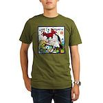 Cat Cancer Organic Men's T-Shirt (dark)