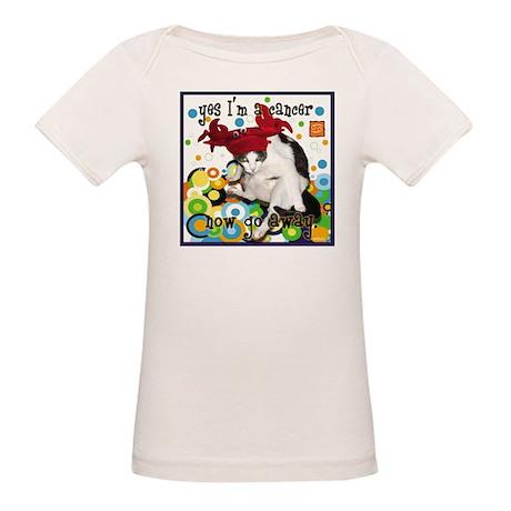 Cat Cancer Organic Baby T-Shirt
