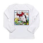 Cat Cancer Long Sleeve Infant T-Shirt