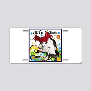 Cat Cancer Aluminum License Plate