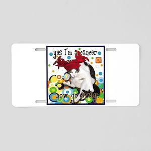 Cat Cancer Aluminum License Plate