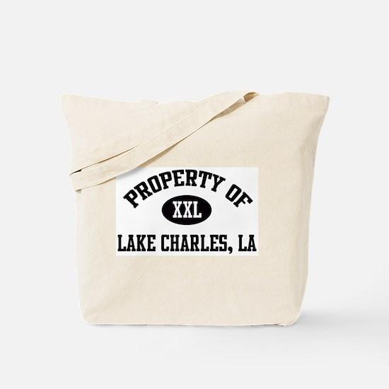 Property of Lake Charles Tote Bag