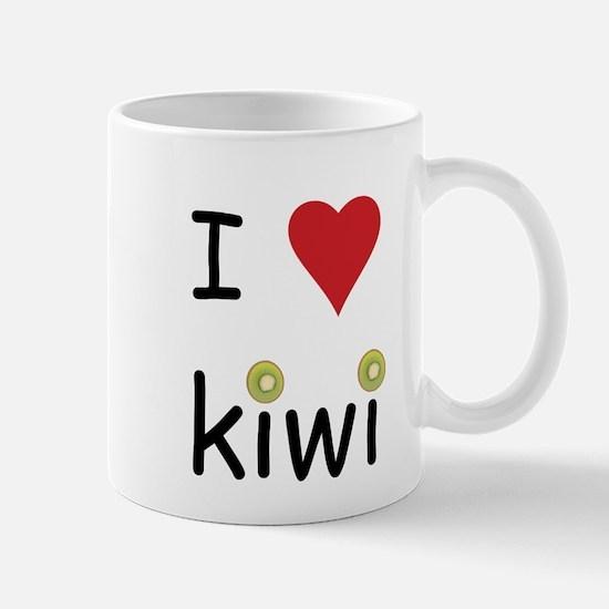 I Love Kiwi Mug