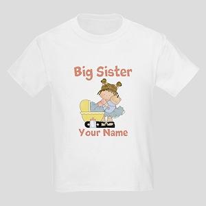 Big Sister Custom Kids Light T-Shirt