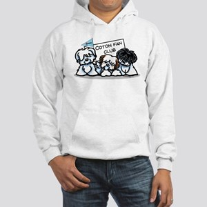 I Love Cotons Hooded Sweatshirt