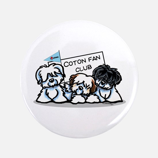 """I Love Cotons 3.5"""" Button"""