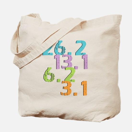 runner distances Tote Bag