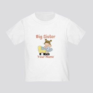 Big Sister Custom Toddler T-Shirt