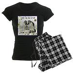 Cat Aries Women's Dark Pajamas