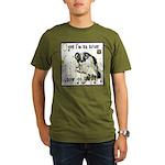 Cat Aries Organic Men's T-Shirt (dark)