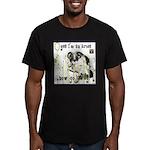 Cat Aries Men's Fitted T-Shirt (dark)