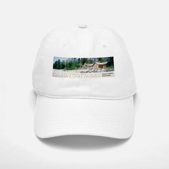 Olson Cottages Door County Baseball Baseball Cap