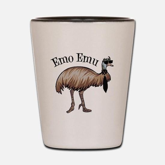 Emo Emu Shot Glass