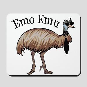 Emo Emu Mousepad