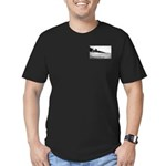 Olson Cottages Door County Men's Fitted T-Shirt (d