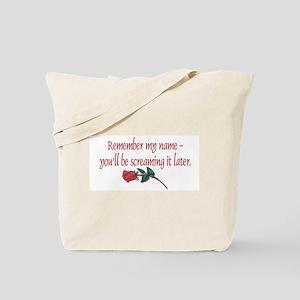 Screaming Tote Bag
