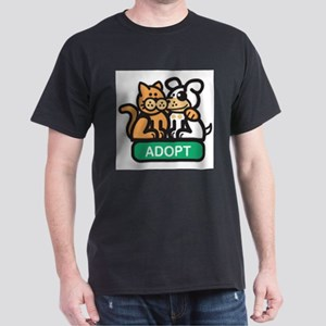 adopt animals Dark T-Shirt