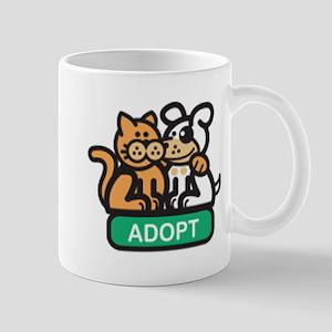 adopt animals Mug