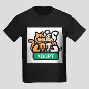 adopt animals Kids Dark T-Shirt