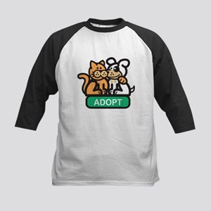 adopt animals Kids Baseball Jersey