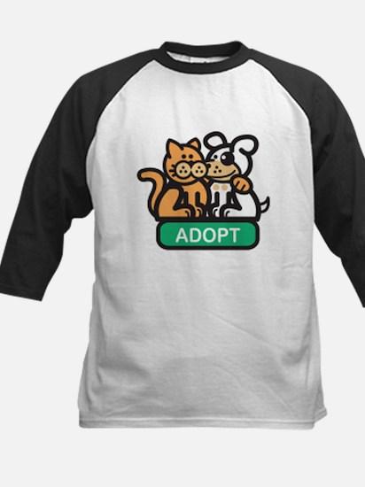 adopt animals Kids Baseball Jersey