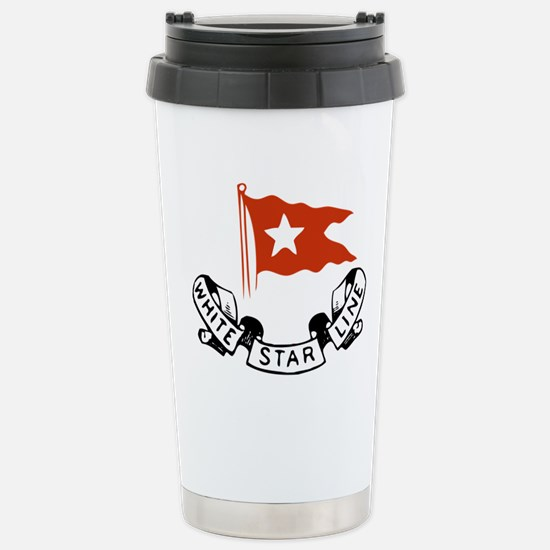 White Star Logo Travel Mug