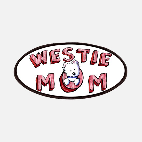 Westie Mom (Red) Patches