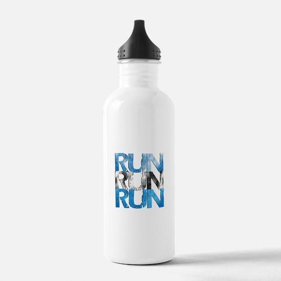 RUN x 3 Water Bottle