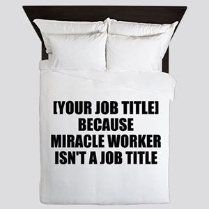 Job Title Miracle Worker Personalize It! Queen Duv