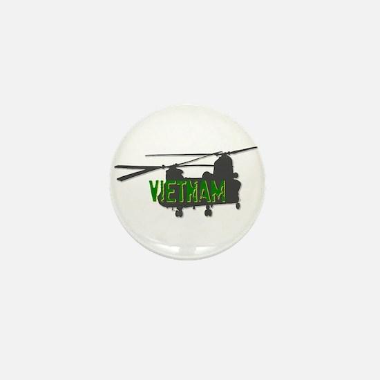 Vietnam Chinook Mini Button